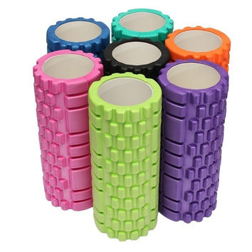 EVA Yoga Foam Roller Pilates Massage Exercise Fitness  Massage Trigger Point 33x14cm = 1932172996