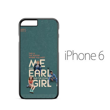 Me Earl Dying Girl Poster iPhone 6 Case