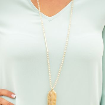 Sandprints Necklace | Monday Dress Boutique