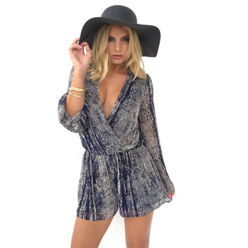 Shed Light Long Sleeve Romper