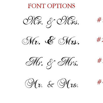 SPARKLING Gold Wedding Signs MR. and MRS. Wedding Chair Signs Beautiful Sweetheart Table Decor