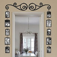Scroll and Picture Door Frame 12-Piece Set