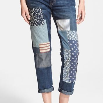 Women's Current/Elliott 'The Fling' Rolled Jeans ,
