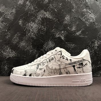 """Nike Air Force 1 '07 Low AF1 With """"SLAM DUNK"""" Print - Best Online Sale"""