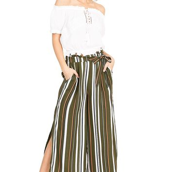 Mixed Feature Culottes