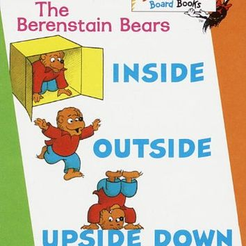 The Berenstain Bears Inside Outside Upside Down Board book – July 8, 1997