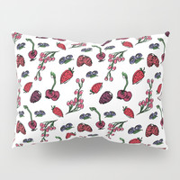 Fruits Pattern Pillow Sham by Sagacious Design