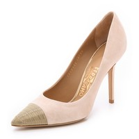 Salvatore Ferragamo More Chain Pumps