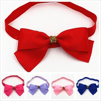 Girl Elastic Hair Band Phnom Penh Bowknot Headband newborn toddler Bowknot Hair Band Headbands Hair Accessories for children