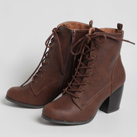 Mary Kate Lace-Up Boots
