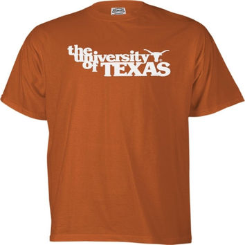 Texas Longhorns Burnt Orange Vintage T-Shirt