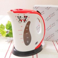 LOVE LOVE mickey & minnie electric kettle 0.6L MM-201