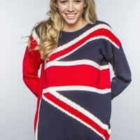 Polly Flag Sweater