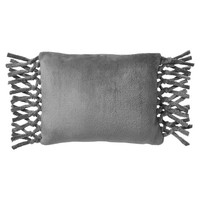Bohemian Fringe Plush Pillow