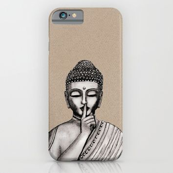 BUDDHA iPhone & iPod Case by Vanya