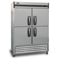 Nor-Lake NLR49-SH 2 Section Reach-in Refrigerator, Half Solid Doors