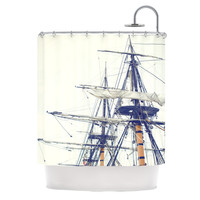 "Bree Madden ""Pirate Ship"" Shower Curtain"