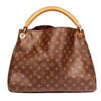 Louis Vuitton Artsy Mm Monogram Canvas Hobo Bag 5678