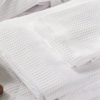 Waffle Weave Egyptian Cotton Spa Towels by Bellora