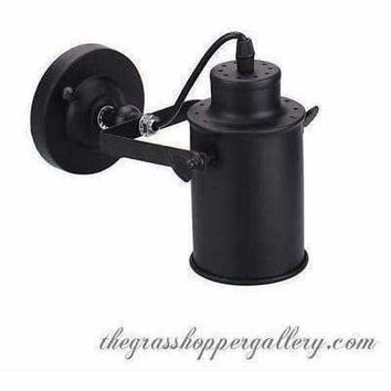 Industrial Vintage Iron Wall Led Lamp