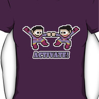 Mega Wonder Twins Women's T-Shirt