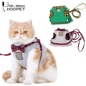 Elegant British Style Cat Harnesses | Jacket+Leash
