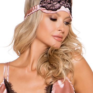 Satin & Lace Sleep Eye Mask