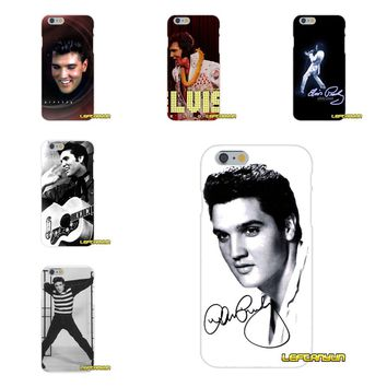Elvis Presley Pop King Star Soft Silicone phone Case For Samsung Galaxy S3 S4 S5 MINI S6 S7 edge S8 Plus Note 2 3 4 5