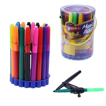 Water Changing Color Learning Drawing Painting Toys Amazing color changing pens Magic Pen School Office Supplies Kids Gift Pens