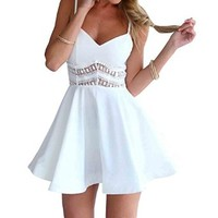 Women's Summer Spaghetti Strap Dress