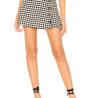 by the way. Meadow Button Up Skirt in Black & White | REVOLVE