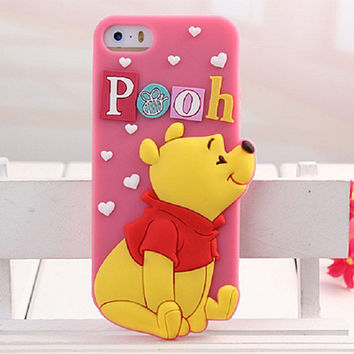 Lovely Iphone Phone Case Apple Silicone Phone Case [8003787847]