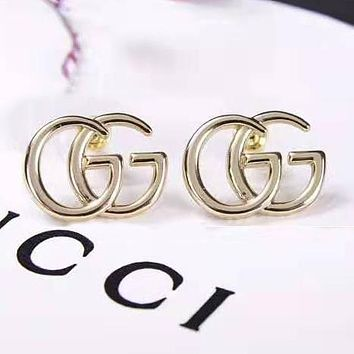 GUCCI Classic Fashion Women GG Letter Earrings Accessories Jewelry