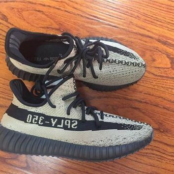 Adidas yeezy 350 Boost v2  Local tyrants gold Basketball Shoes 36-47