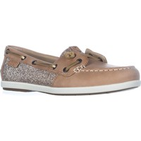 Sperry Top-Sider Coil Ivy Boat Shoes, Linen, 5.5 US / 35.5 EU