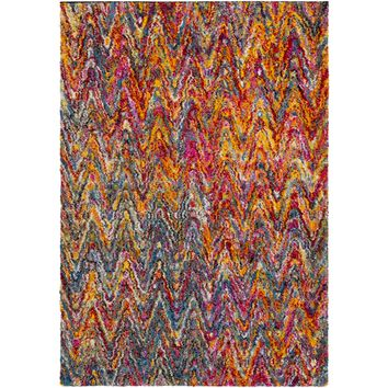 Surya Floor Coverings - RWS6201 Rainbow shag - Area Rugs/Runners