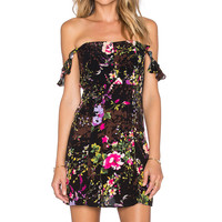 FLYNN SKYE x REVOLVE Bardot Mini Dress in Hawaiian Passion