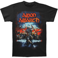 Amon Amarth Men's  Northern Shores Tour T-shirt Black