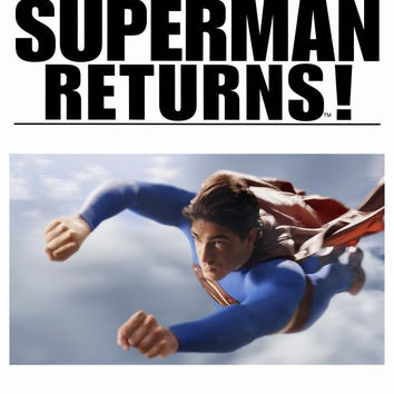 Superman Returns 11x17 Movie Poster (2006)