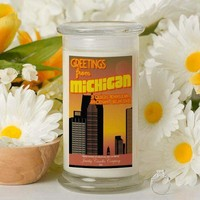 Greetings From Michigan - Greetings From Candles