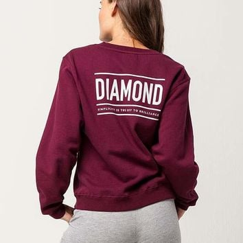DIAMOND SUPPLY CO. Womens Sweatshirt | Sweatshirts + Hoodies