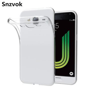 Snzvok 0.3mm Thin Soft clear Silicon TPU Case For Samsung Galaxy S8 S7 S6 J1 J2 J3 J5 J7 A3 A5 A7 2017 phone back cover
