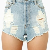 About Time Cutoff Shorts