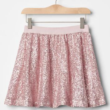 Gap Girls Sparkle Circle Skirt