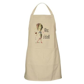 WINE OCLOCK! APRON