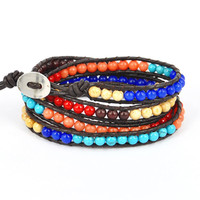 Multicolor Beads Ibiza Bracelets