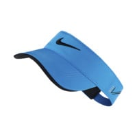 Nike Tour Adjustable Golf Visor (Blue)
