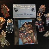 Captain America Sticker Pack from Fiesta Studios