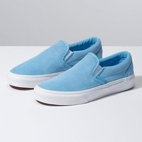 Vans Slip On(Soft Suede)Alaska Blue
