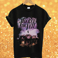 pierce the veil  ScreenPrint Custom shirt for T shirt Mens and T shirt woman made in US Available size